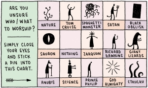 Tom Gauld worship - Arkham Comics 7 rue Broca 75005 Paris