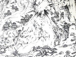 la-grande-guerre-surprise-l-artillerie-ennemie-est-toujours-en-bon-etat-de-sevir